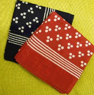 Handkerchief Blue Spot H5592